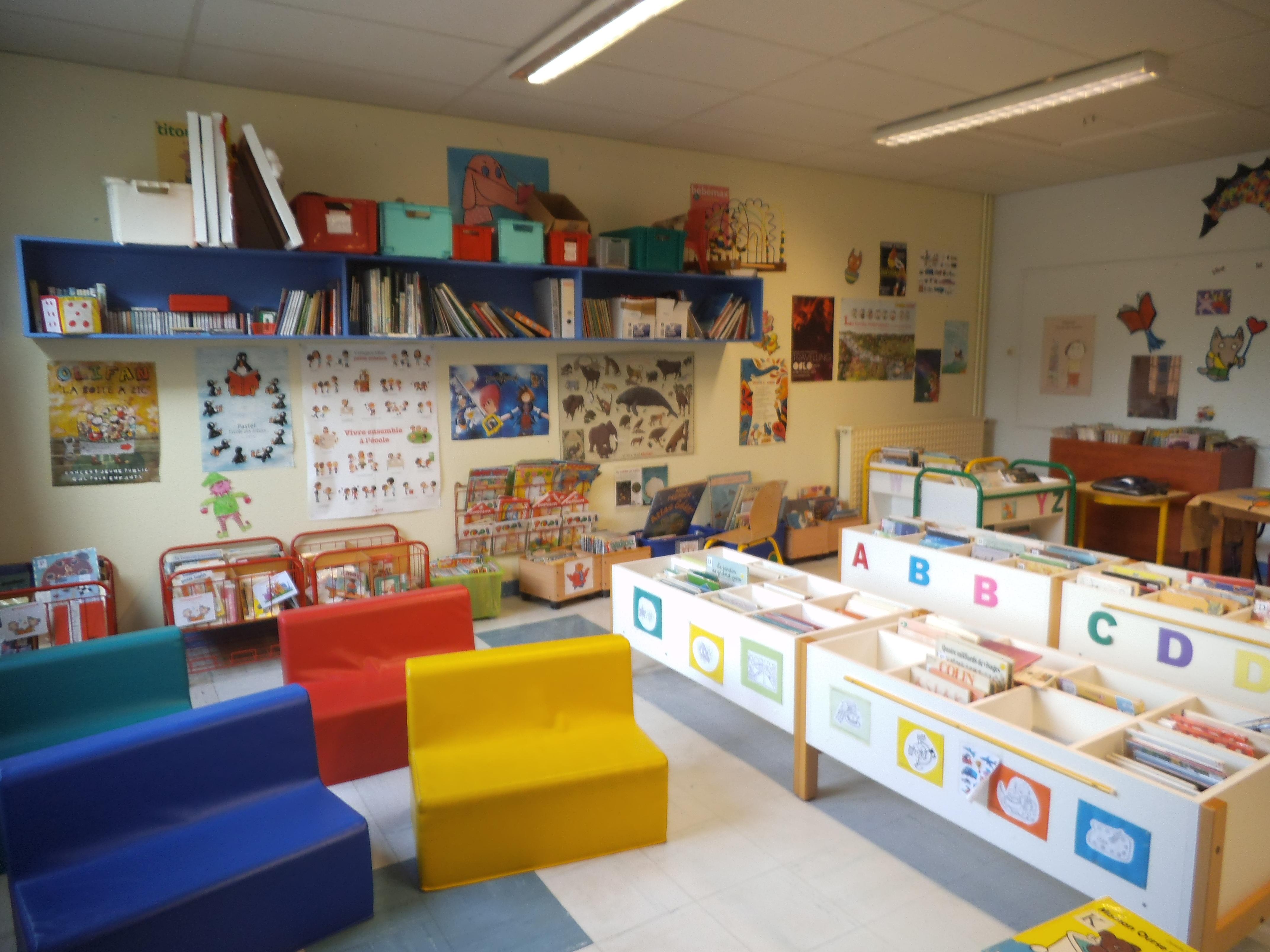 La biblioth que de l 39 cole b c d ecole maternelle publique de chavagne - Image d ecole maternelle ...